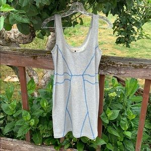 Rebecca Taylor Sweat Dress Terry Bodycon M